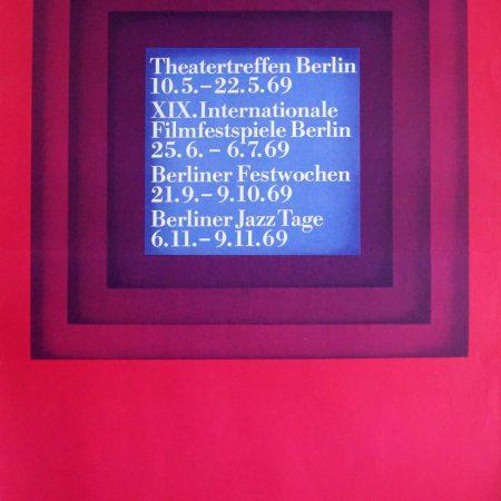 Berliner Festspiele 1969