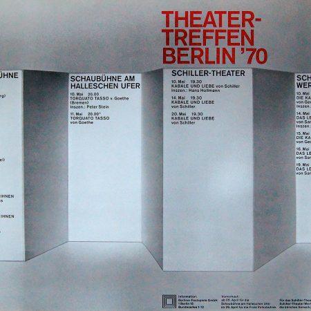 Theatertreffen Berlin 1970