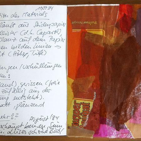 Erstes Künstlerisches Tagebuch