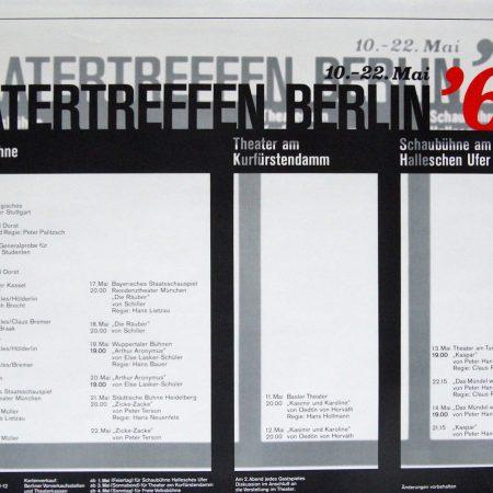 Theatertreffen Berlin 1969