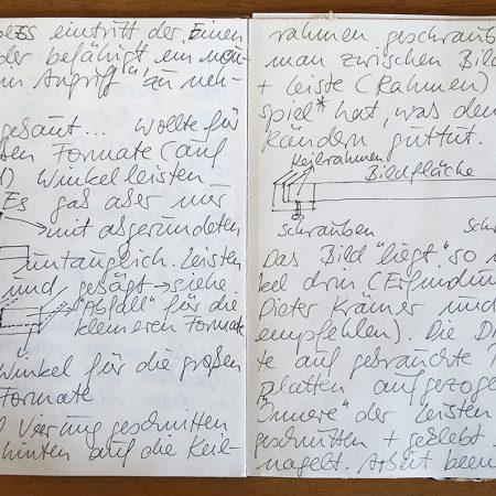 Zweites Künstlerisches Tagebuch